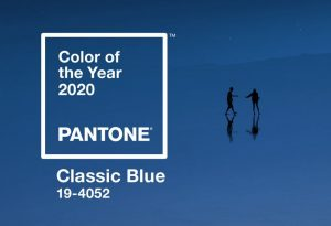 Pantone COTY 2020 Blue