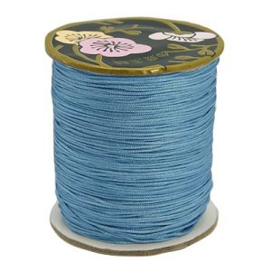 Macrame cord - Blue - Riverside Beads