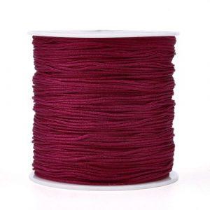 Macrame Cord - Dark Red - Riverside Beads