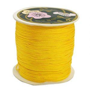 Macrame Cord - Yellow - Riverside Beads