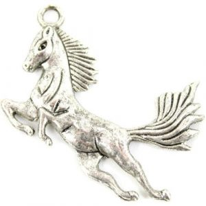 Silver Plated Horse Charms - Riverside Beads