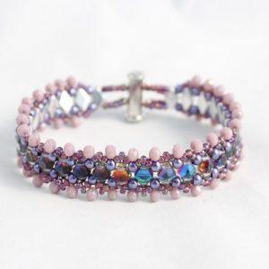 Frilly Gem Duo Bracelet - Riverside Beads