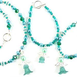 Sue Ryder 'Alexandra' Angel-riverside beads