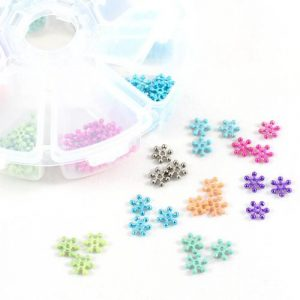 Sparkle Spacer Beads