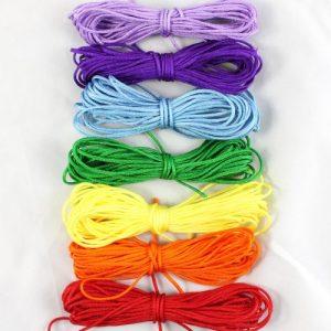 1.5mm Rainbow Macrame Cord - Riverside Beads