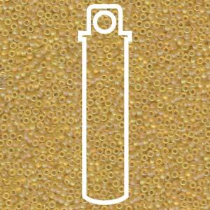 Size 15/0 Miyuki Seed Beads - Matte Cantaloupe - Riverside Beads