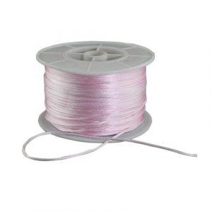 Satin Cord - Baby Pink - Riverside Beads