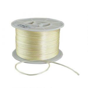 Satin Cord - Cream - Riverside Beads
