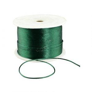 Satin Cord - Dark Green - Riverside Beads