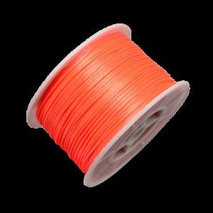 Satin Cord - Orange - Riverside Beads