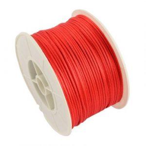 Satin Cord - Red - Riverside Beads