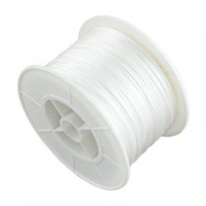 Satin Cord - White - Riverside Beads