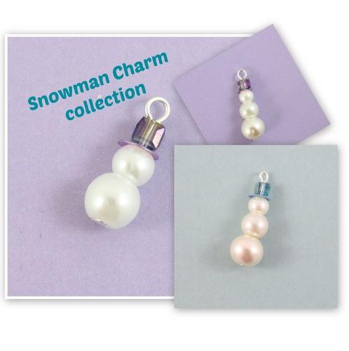Snowman Charm Collection Kit-riverside beads