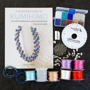 Kumihimo Book Bundle Kit-riverside beads