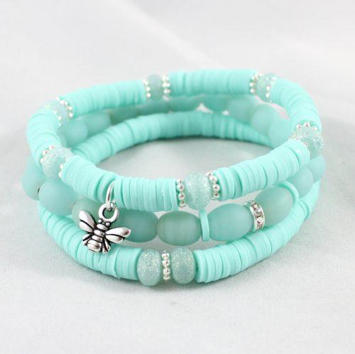 Boho Bracelet Collection Teal-riverside beads