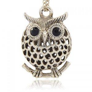Hollow Owl Charm - Riverside Beads