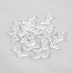 Angel Wings Acrylic Clear-riverside beads