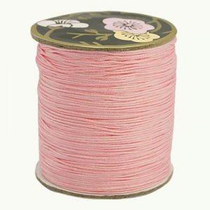 Macrame Cord - Baby Pink - Riverside Beads