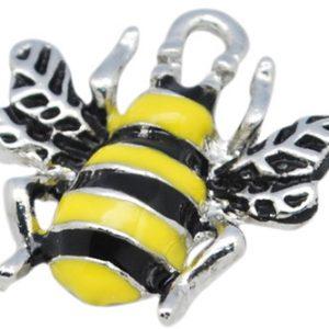 Enamel Bee Charms - Riverside Beads