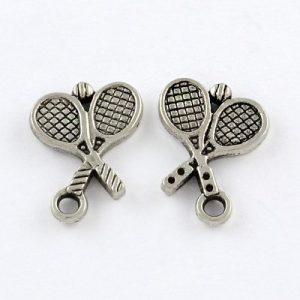 Tennis Racket Charms - Riverside Beads