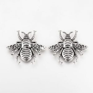 Bee Cabochon Charms - Riverside Beads