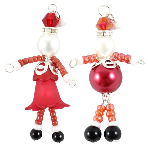 Santa and Mrs Claus-Riverside Beads