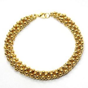 Gold Cubic Right Angle-riverside beads