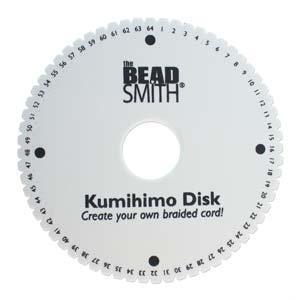 64 Slot Kumihimo Disk - Riverside Beads