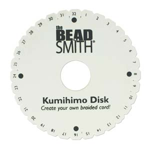 "6"" Double Kumihimo Disk - Riverside Beads"