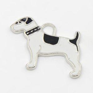 Enamel Dog Charms - Riverside Beads