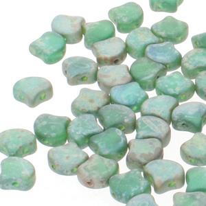 Ginko Beads Emerald Matt Rembrandt - 7.5mm - 10g - Riverside Beads