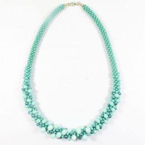 Gaynor Crystal Kumihimo Necklace-riverside beads