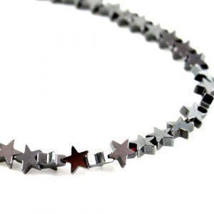 5mm Gunmetal Hematite Star - Riverside Beads