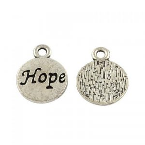 Hope Charms - Silver Plated - Riverside Beads