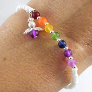 Rainbow Drops Bracelet Kit-riverside beads