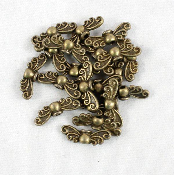 Angel Wings Brass Mini - Riverside Beads