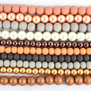 Autumn Glass Bead Collection - Riverside Beads