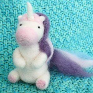 Needle Felted Unicorn Kit-riverside beads