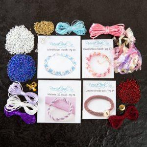 Kumihimo Jewellery Kit - 4-riverside beads