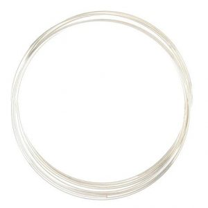 6cm Silver Memory Wire - Riverside Beads