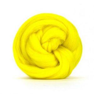 Merino Wool Top Jonquil - Riverside Beads