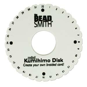Mini Double Kumihimo Disk - Riverside Beads