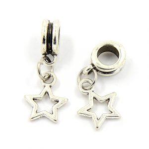 Dangling Star Charms - Riverside Beads