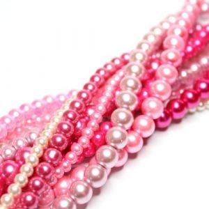 Pink Blush Bead Collection-riverside beads