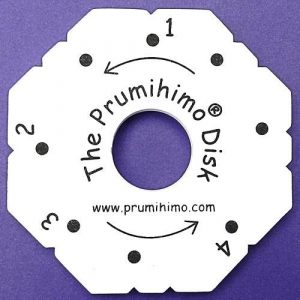 Prumihimo disk with instructions-riverside beads