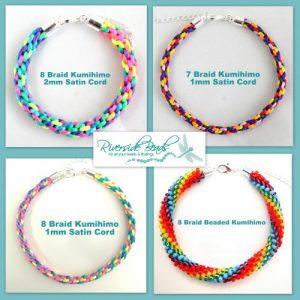 Rainbow Kumihimo Braiding Kit-riverside beads