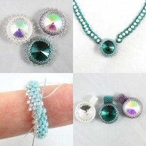 Birthstone Rivoli Collection 2 - Riverside Beads