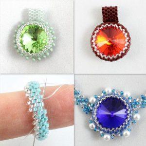 Birthstone Rivoli Collection 3 - Riverside Beads
