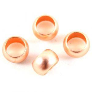 Large Holed Rosegold Beads - Riverside Beads