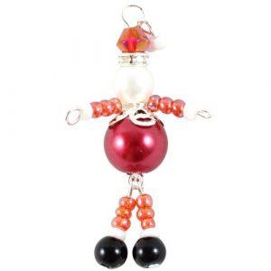 Beaded Santa Charms Kit-riverside beads